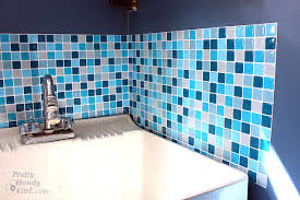 Glass Tile Installation Smart Tiles Installation And Product Review Pretty Handy