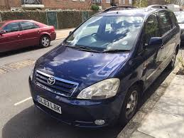 mpv car 7 seater toyota avensis verso auto mpv full history 7 seater family car