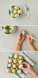metallic easter eggs make this metallic egg easter diy paper and stitch