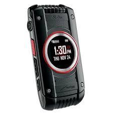 Rugged Smartphone Verizon Verizon Water Resistant Casio Gzone Ravine 2 Rugged C781 Flip