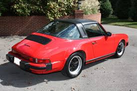 porsche red beautiful 1984 porsche 911 targa guards red with tan interior