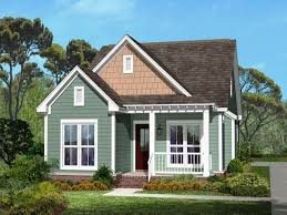 Craftsman Style Homes Plans Small House With Ranch Style Porch Small House Plans Craftsman