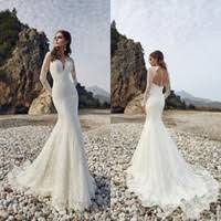 Long Sleeve Lace Wedding Dress Open Back Open Back Lace Wedding Dress Delicate Wedding Dress In Wholesale