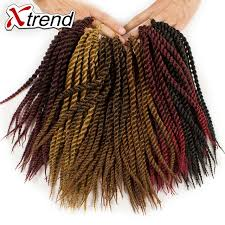 ombre kanekalon braiding hair online shop xtrend senegalese twist crochet braid hair 12inch