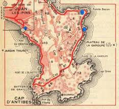 map of antibes maigret of the month liberty bar