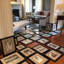 blog meadowbank designs we had 97 family photos framed and hung in one day at our client s home
