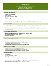 federal government resume template federal government resume template free templates