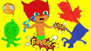 pj masks play doh videos pj masks costumes kid learn