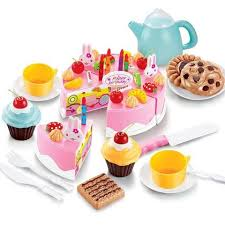 jeux de cuisine de gateaux d anniversaire jeu d imitation gâteau d anniversaire 54 pièces ludido