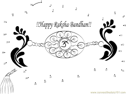 rakhi coloring pages 28 rakhi coloring pages rakhi raksha bandhan colouring pages