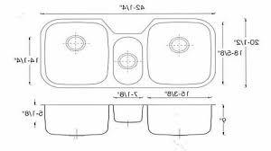 Standard Kitchen Sink Size Kitchen by Kitchen Kitchen Sink Sizes Intended For Wonderful Standard