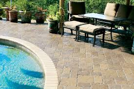 paver stone pool deck gallery pool deck pavers idea gallery