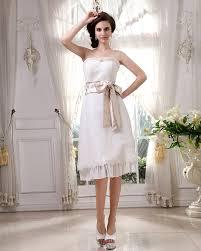 Civil Wedding Dress Simple Short Wedding Dresses More Casualties Elasdress