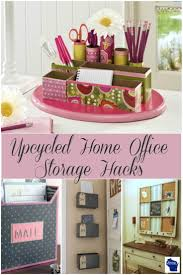 upcycled home office storage hacks wisconsin homemaker
