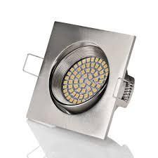 led einbauspot sweet led flaches design led einbaustrahler flach 320 lumen