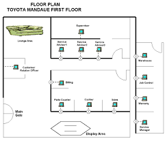 toyota center floor plan