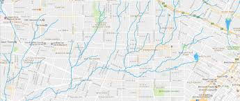 Map Of Greater Los Angeles Area by Los Angeles U2013 Hidden Hydrology
