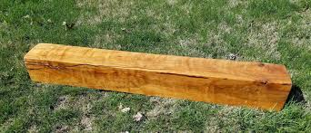 hardwood mantel solid wood thick mantel shelf cherry heartwood