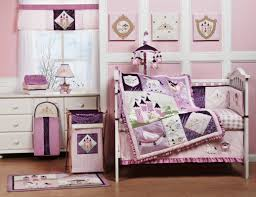 Baby Curtains For Nursery by Baby Nursery Decor Tower Purple Beautiful Baby Girl Ideas For