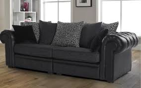 Black Fabric Sofa Sets Black Fabric Sofas Uk Memsaheb Net