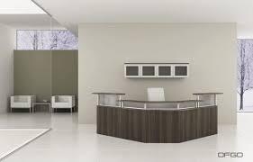 Reception Desk Small Trendy Modern Office Reception Area Design Corner Reception Desk