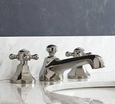 Bathtub Faucet Handles Victoria Cross Handle Widespread Bathroom Faucet Pottery Barn