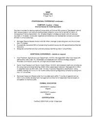 Banking Job Resume by Resume Format For Banking Professional Free Resume Example And