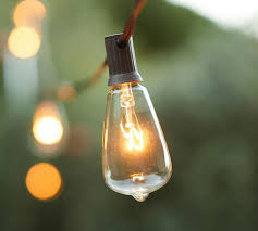 light bulb string lights edison bulb string lights pottery barn