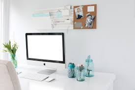 Desk Organized by An Organized And Inspired Office