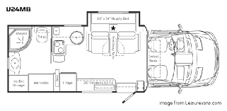 class b motorhome floor plans the best small rv s living large in a small space