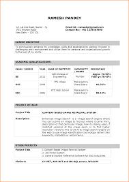 Resume Format For Bpo Jobs For Freshers Resume Samples For Teachers Freshers Augustais