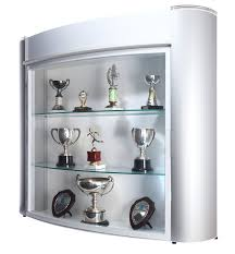 trophy display cabinets trophy showcase display cabinet wall mounted