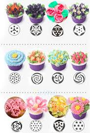 flower decorating tips 57 pcs russian flower icing piping nozzles cake decoration tips