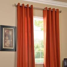 Burnt Orange Sheer Curtains Sensational Design Burnt Orange Sheer Curtains 46080 Window