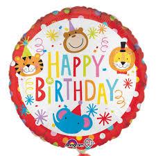 circus balloon party camel circus happy birthday balloon