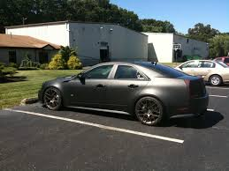 matte black cadillac cts v of my matte black 09 cts v 6speedonline porsche