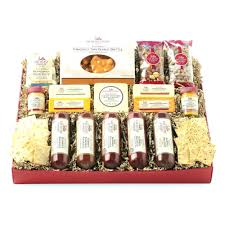 wine gift baskets free shipping wisconsin cheese gift baskets best meat company etsustore