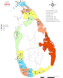 Map Of Sri Lanka Maps Of Tsunami Affected Areas Sangam Org