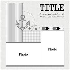 104 best nautical scrap layouts images on pinterest scrapbooking