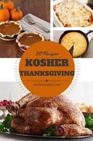 50 thanksgiving recipes of kosher