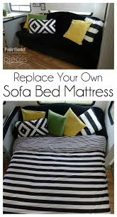Sofa Bed Mattress Replacement by Diy Sofa Bed Mattress Fairfield World Craft Projects