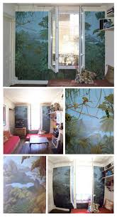 77 best jungle wall images on pinterest jungles wallpaper and rio jungle painting wall in parisian appartement geraldesign 2015