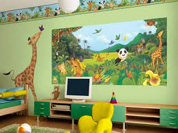 Wall  Childrens Bedroom Wallpaper Ideas And Cool Kids Room - Boys bedroom wallpaper ideas
