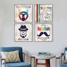 Hipster Home Decor by Online Get Cheap Hipster Canvas Print Aliexpress Com Alibaba Group