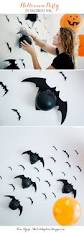 how to make a wall of balloon bats for your halloween party kim