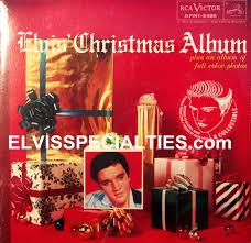 christmas photo album elvis christmas album green vinyl