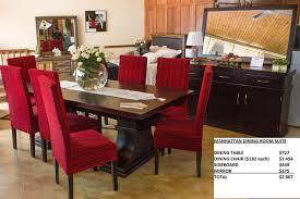 manhattan dining room suite roost custom manufacturing