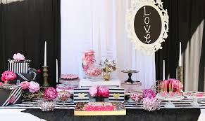 Ideas For Black Pink And A List Of Fun Bridal Shower Ideas To Get You Inspired Everafterguide