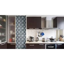stainless steel backsplashes for kitchens black stainless steel backsplash metal glass mosaic tile