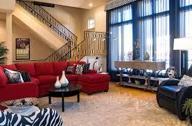 Decorating With Red Sofa Red Sectional Sofa Decor Centerfieldbar Com